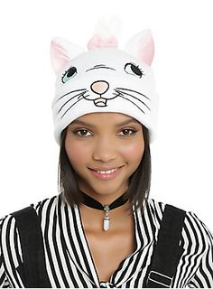Marie the cat knows where it's at // Disney The Aristocats Marie Character Beanie