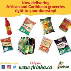 This Thanksgiving we are grateful for your immense support, and to say thank you we have a wonderful gift for you.  Just in time for winter: Arinka now offers African & Caribbean groceries delivered right to your doorstep!!! Log on to www.arinka.ca to order your essential kitchen staples and get them delivered at your convenience to your home in Calgary & Airdrie.  Happy Thanksgiving Arinka family! . . .  #YYC #yyceats #yycfood #yycfoodtrucks #groceries #fooddelivery #groceriesdelivery… Grateful For You, Happy Thanksgiving, Calgary, Caribbean, Snack Recipes, Delivery, African, Dishes, Winter