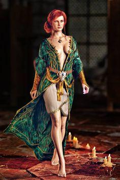 The Witcher Wild Hunt – Gameplay Story Fantasy Art Women, Dark Fantasy Art, Fantasy Girl, The Witcher Wild Hunt, The Witcher Game, The Witcher Geralt, Witcher Art, Triss Merigold Witcher 3, Ciri