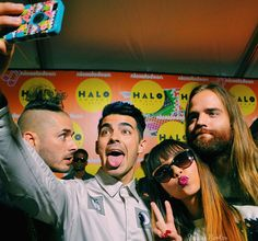 DNCE // Cole Whittle, Joe Jonas, JinJoo Lee, Jack Lawless - Nickelodeon #HALOawards