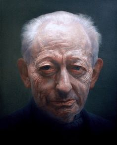 Michael Simpson. Oil on canvas. 137.5 x 112 cm. Artist: Paul Emsley. Winner of the BP Portrait Award, the National Portrait Gallery's annual painting competition and exhibition in 2007.