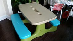 $12.00 in spray paint - new table that for this size retails starting at $90.00