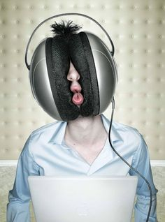 Consumed by Trance Music!!!  #headphone #dance #edm #rave #trance #edc #plur #dj #music