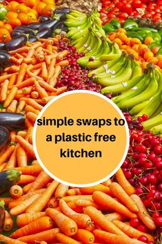 How can you reduce single use plastic in your kitchen.