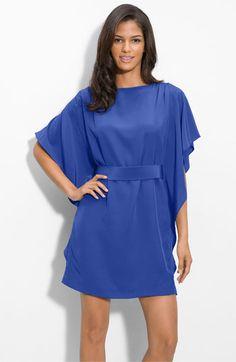 Suzi Chin for Maggy Boutique Tie Waist Silk Dress