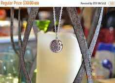 Sterling Silver Dandelion Necklace by MEbydesignBoutique on Etsy