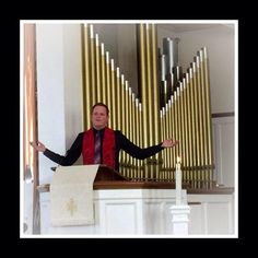 """Preaching at First Congregational UCC PHX, on January 18, 2015 """"I Have A Dream Boutique."""" Announced Rebel & Divine UCC would be opening a youth/young adult Transgender Shoe & Clothing Closet with the assistance of HRC AZ's Sponsored MLK Day of Service event."""