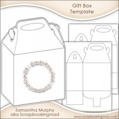 Party Box Templates Free | 1237 Best Gift Box Templates Images On Pinterest In 2018 Packaging