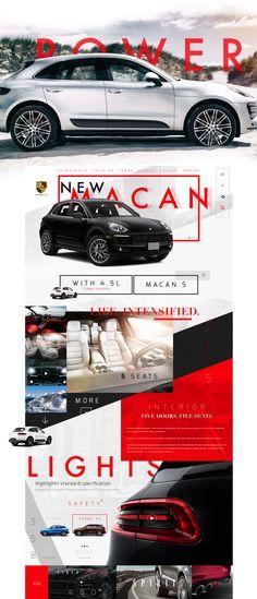 Porsche Macan on Behance