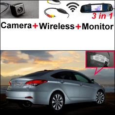 72.44$  Buy here - http://alie50.shopchina.info/go.php?t=32800832614 - For Hyundai i40 2011~2015 Wireless Receiver + 3 in1 Special Rear View Camera + Mirror Monitor Easy DIY Back Up Parking System  #aliexpressideas