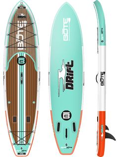 BOTE Drift 116 Classic Inflatable Fishing Paddle Board