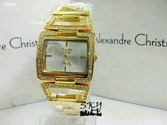 Daftar Harga Jam Tangan Alexandre Christie Original Terbaru Square Watch, Gold Watch, Rose Gold, Watches, The Originals, Accessories, Wristwatches, Clocks, Jewelry Accessories