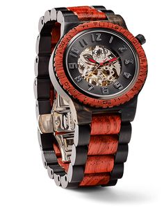 Dover Ebony & Rosewood - Automatic Wood Watch by JORD  Need this