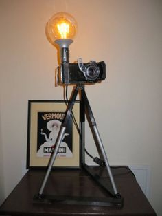 Moscow2 type camera lamp Table Lamp, Lights, Type, Retro, Handmade, Vintage, Home Decor, Highlight, Homemade Home Decor