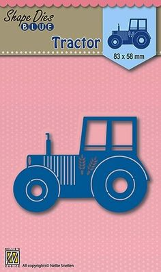 sdb002 Country Crafts, Craft Shop, Tractors, Shapes, Silhouette, Paper, Die Cutting, Cards, Primitive Crafts