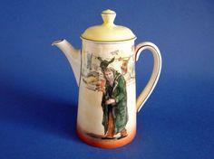 Royal Doulton 'Fagin' Dickens Series 'A' Coffee Pot D5175 c1932