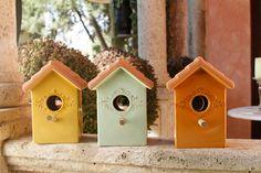 Casas de Pajaro para la decoración de tu jardín