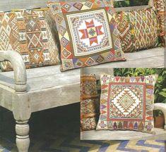 Схемы для вышивания подушек в восточном стиле - МирТесен