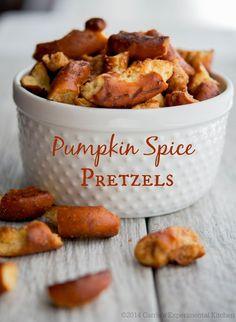 Pumpkin Spice Pretzels   Carrie's Experimental Kitchen