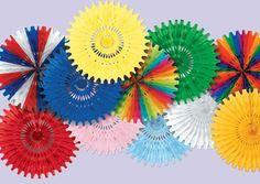 $2.40 each for 25 inch Art-Tissue Fan