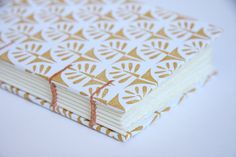 Small Coptic Stitch Trees Notebook by scribbleandjot on Etsy