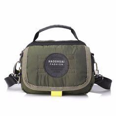 Men Casual Nylon Waterproof Shoulder Bag Outdoor Sport Crossbody Bag