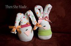 Then she made...: Sock Bunnies