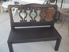 Black twin bench $200 43in x 18in x 39in