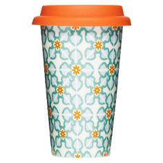 Sagaform Thermal Ceramic Mug - Tile: This porcelain takeaway cup is a potential design classic. Double-walled insulation keeps the contents of your cup warm while the outside is still cool enough to hold.