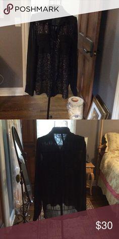 Dressy blouse 100%polyester dressy blouse Kensie Tops Blouses