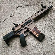 Repost from @uhsaltrifle #sbr #lwrc #lancermags #carolinagunsandgear Airsoft Guns, Weapons Guns, Guns And Ammo, Tactical Rifles, Firearms, Shotguns, Revolvers, Shotshell Reloading, Ar15 Pistol