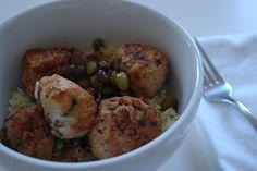 chicken teriyaki meatballs