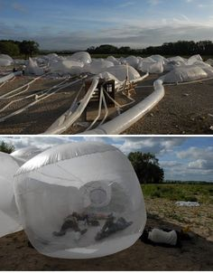 Blow-Up Buildings: 17 Inflatable Works of Mobile Architecture