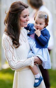 The Duchess of Cambridge and Princess Charlotte ~ Canada 2016