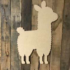 Buy Wholesale and save on Llama Unfinished Cutout, Wooden Shape, Paintable Wooden MDF DIY Craft Alpacas, Wooden Cutouts, Wooden Shapes, Wood Arch, Picture Letters, Cross Art, Wooden Hangers, Etsy Crafts, Wooden Crafts