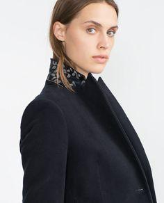 Image 2 of MOLESKIN BLAZER from Zara