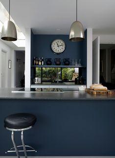 Petrol Farbe Küche