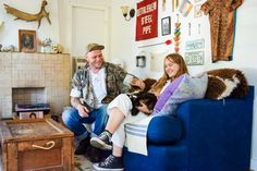 Meet Pro Vintage Collectors, Mallory & Garret, and Learn Their Top Tips to Decorating Your Home With Vintage