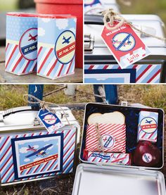 airplane party-lunch box.. favor?