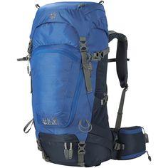 Onderscheidt zich door de vrouwelijke pasvorm en goede ventilatie: De Highland Trail 34 van Jack Wolfskin voor dames is een slanke wandelrugzak die is afgestemd op de specifieke…