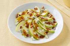 Apple, Pecan and Gorgonzola Side Salad recipe