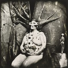 Portrait of Nan, New Mexico by Joel-Peter Witkin