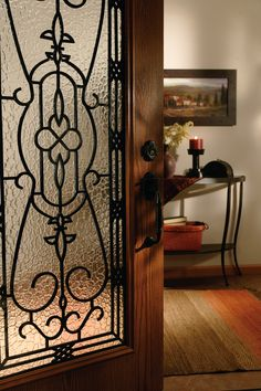 Decorative Door Glass and Stained Glass Door Inserts Stained Glass Door, Old World Style, Entryway Tables, Mood, Furniture, Home Decor, Decoration Home, Room Decor, Home Furniture