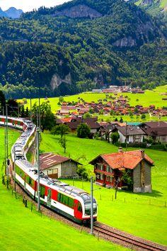 FAIRYTALE PLACES IN SWITZERLAND