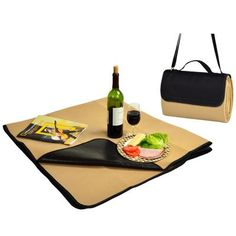 Gift Idea: Fleece Picnic Blanket with Tote