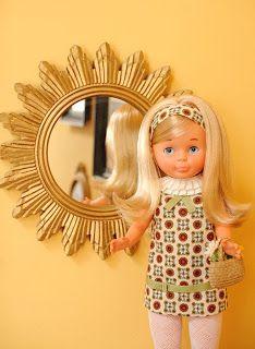 Muñecas Modelo Y Accesorios Constructive Preciosa MuÑeca Mariloli Época De Nancy