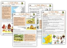 MAJ Histoire CE2 : La Gaule Celtique French Teacher, Teaching French, Gaule Romaine, High School French, Human Geography, French History, Learn French, Book Activities, Teacher Resources
