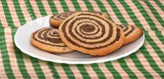 ⇒ Bimby, le nostre Ricette - Bimby, Girelle di Biscotto Bicolore