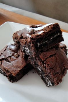 Outrageous Oreo Brownies just made these at my house and they came out awesome!!