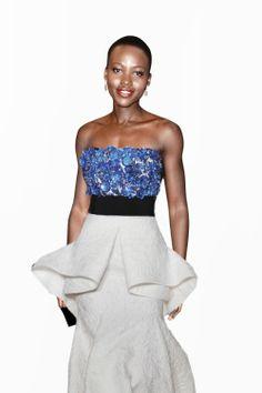 Awards Season 2014: Oscars Red Carpet Last-Minute Predictions , Lupita Nyong'o  Giambattista Valli Haute Couture Spring 2014